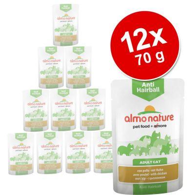 almo-nature-anti-hairball-pouch-12-x-70-g-kattenvoer-met-kip