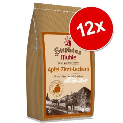Ekonomipack: Stephans Mhle hästgodis 12 x 1 kg – Blandpack