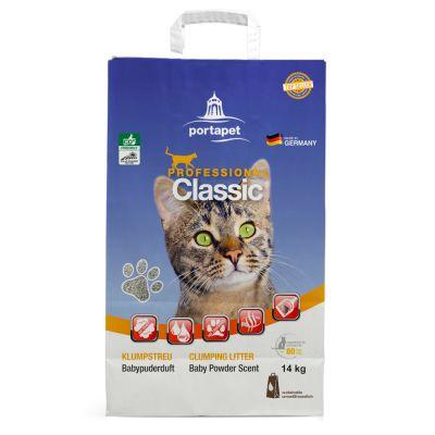 Professional Classic -kissanhiekka, vauvantalkintuoksu - 14 kg