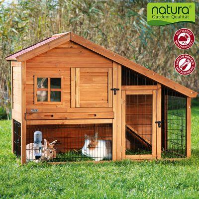 Trixie Natura Luxury kaninbur med utegård – B 151 x D 80 x H 107 cm