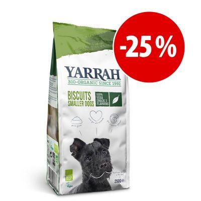 Yarrah Bio snacks para perros ¡con gran descuento! - Galletas vegetarianas ecológicas - 2 x 250 g