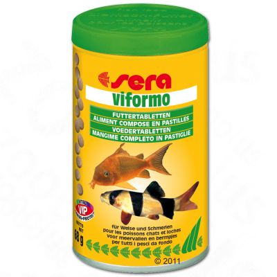 Sera Viformo fodertabletter – 700 tabletter (250 ml)