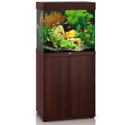 Juwel Lido 120 SBX -akvaario + akvaariokaappi – tumma puu