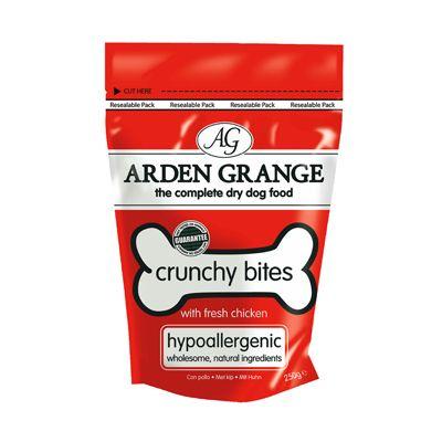 Arden Grange Crunchy Bites - Saver Pack 4 x 250g - Chicken