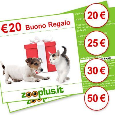 Buono Regalo zooplus - Valore 20,- EUR