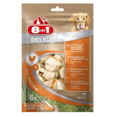 8in1 Delights Kauknochen Huhn