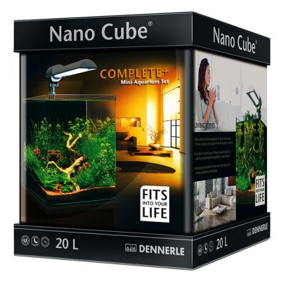 Dennerle Nano Cube Complete PLUS 20 liter – L 25 x B 25 x H 30 cm