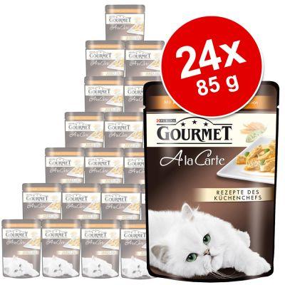 Gourmet a la Carte 24 x 85 g – Kyckling