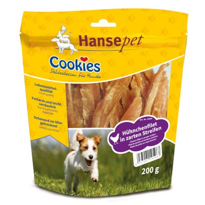 Cookies Delikatess Chicken 200 g - fileet, 3 x 200 g