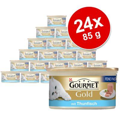Ekonomipack: Gourmet Gold Paté 24 x 85 g – Kyckling
