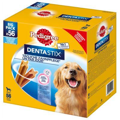 Image of 112 x Pedigree Dentastix/Dentastix Fresh zum Sonderpreis - Fresh - für mittelgrosse Hunde (10-25 kg)