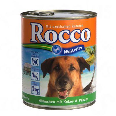 Rocco Jorden Runt: Jamaica 6 x 800 g – Kyckling med kokos & papaya