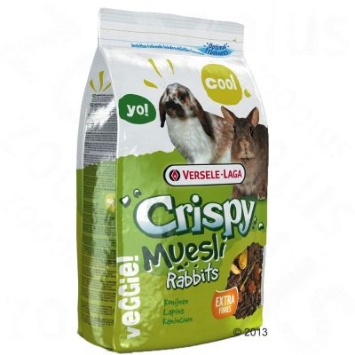 Versele-Laga Crispy Müsli -kaninruoka - 20 kg