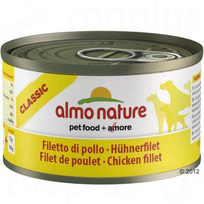 Almo Nature Classic 6 x 95 g – Kalv & skinka