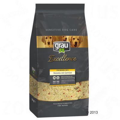 Grau Excellence Premium Mix – Rismix med grönsaker – Ekonomipack: 3 x 5 kg