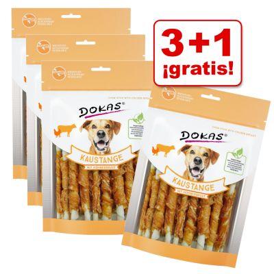 Dokas 4 x 200 g rollitos con pechuga en oferta: 3 + 1 ¡gratis! - Con pechuga de pato (4 x 200 g)