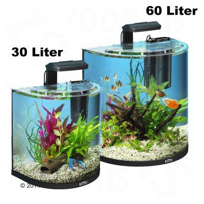 Tetra AquaArt Explorer Line Halfmoon akvarium – komplett set – 60 l