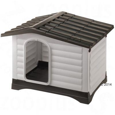 Ferplast Dogvilla plasthundkoja – Dogvilla 70: B 73 x D 59 x H 53 cm