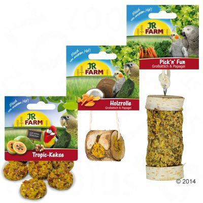 JR Farm Paket för undulater och kanariefåglar – 3 delar (365 g)