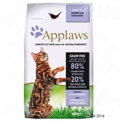 Applaws Adult Naturally Hypoallergenic con pollo y pato para gatos - 7,5 kg