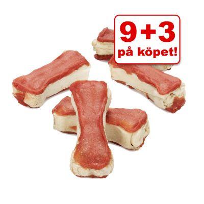 9 + 3 på köpet! 12 st  5 cm Lukullus goda tuggben – Lamm