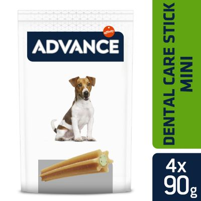 Advance Dental Care Stick Mini snacks para perros - 2 x 360 g
