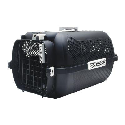 Catit Transportbox White Tiger Voyageur Black
