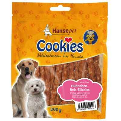 cookie-s-delicatesse-kip-rijst-sticks-hondenvoer-200-g