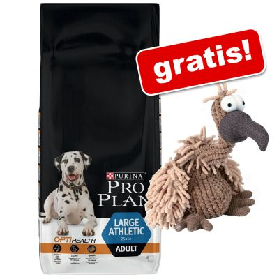 stor-pose-pro-plan-trixie-stofdyr-med-pib-gratis-large-puppy-athletic-kylling-ris-12-kg