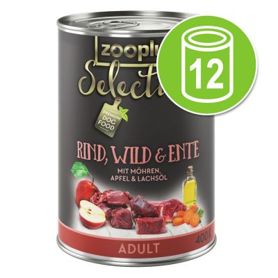 12x400g Selection Adult zooplus Hondenvoer