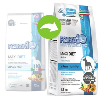 Forza 10 Maxi Diet with Fish - 12 kg