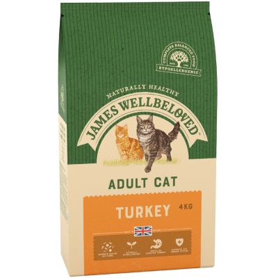 James Wellbeloved Adult Turkey & Rice - 4 kg