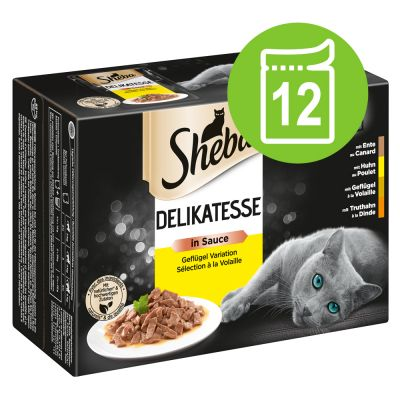Sheba Selection Pouches 12 x 85 g - Selection in Sauce, valikoidut reseptit