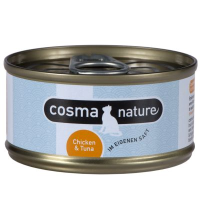Cosma Nature, 6 x 70 g - - Łosoś