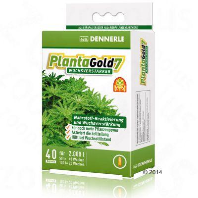 Dennerles PlantaGold 7 tillväxtförstärkare – 40 kapslar, för 2000 l