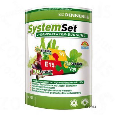 Dennerle Perfect Plant System set – 3-delat gödningsset för 1600 l