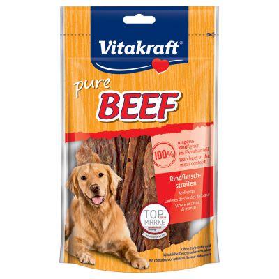 Vitakraft BEEF -naudanlihasuikaleet - 80 g