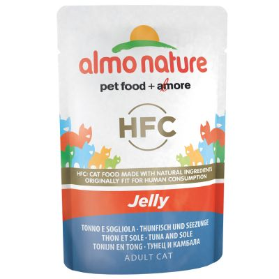 Image of 24 x 55 g Almo Nature Jelly - Huhn