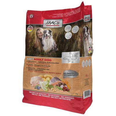 MAC's Soft Grain Free Chicken & Salmon - 3 x 5 kg