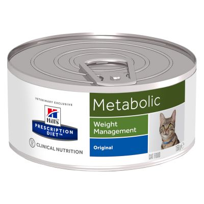 Hill´s Prescription Diet Feline Metabolic Weight Management Original - 12 x 156 g