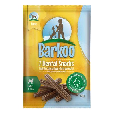 Barkoo Dental snacks para perros pequeños - 7 uds.
