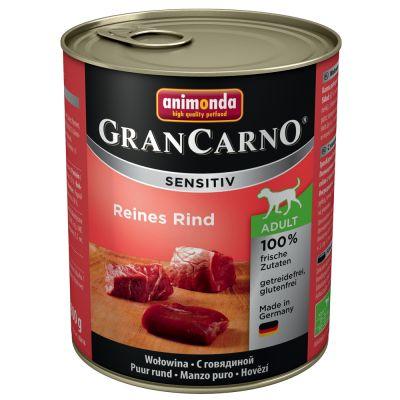 Animonda GranCarno Sensitive 6 x 800 g - lammas