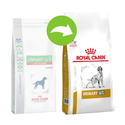 Royal Canin Urinary U/C low purine - Veterinary Diet - 14 kg