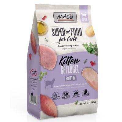 MAC's Superfood for Cats Kitten - 1,5 kg