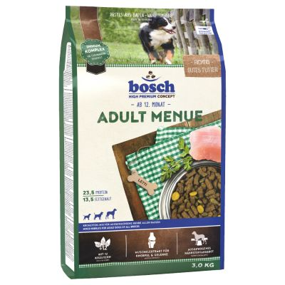 Bosch Adult Menue (uusi resepti) - säästöpakkaus: 2 x 15 kg