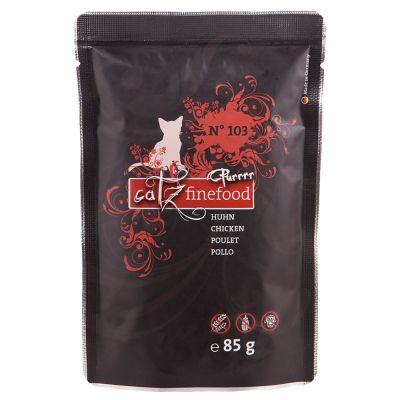 Catz Finefood Purrrr Pouch 8 x 80/85 g - No. 107 - kenguru (8 x 85 g)