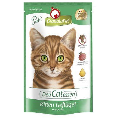 GranataPet DeliCatessen Kitten Pouch, siipikarja - 24 x 85 g