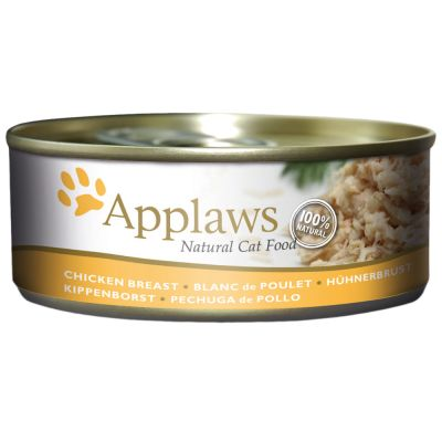 Applaws in Broth -kissanruoka 6 x 156 g - kana & juusto