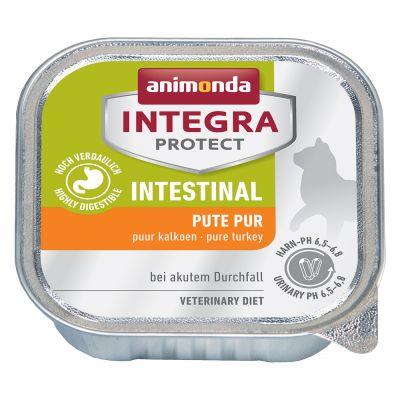 Animonda Integra Protect Adult Intestinal con pavo para gatos - 24 x 100 g - Pack Ahorro