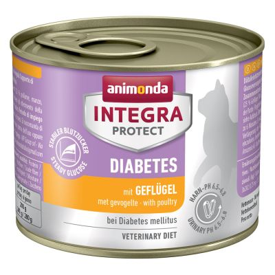 Animonda Integra Protect Adult Diabetes -purkkiruoka - 6 x 200 g siipikarja